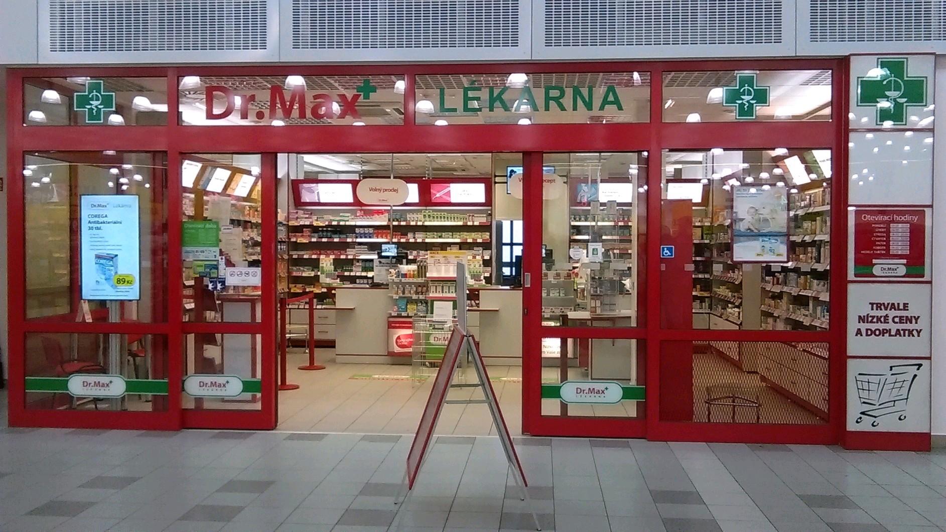 Dr.Max, Poděbradská 297, Pardubice