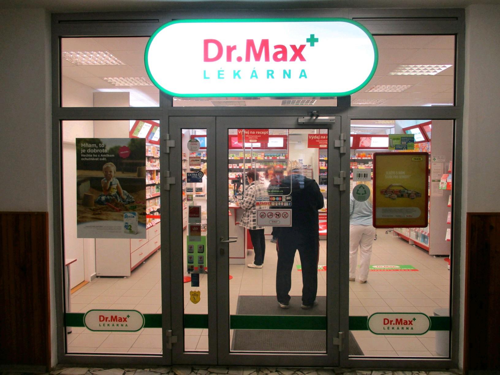 Dr.Max, Dvořákova 385, Nový Bor