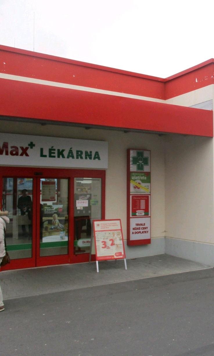 Dr.Max, Všebořická 389/53, Ústí nad Labem