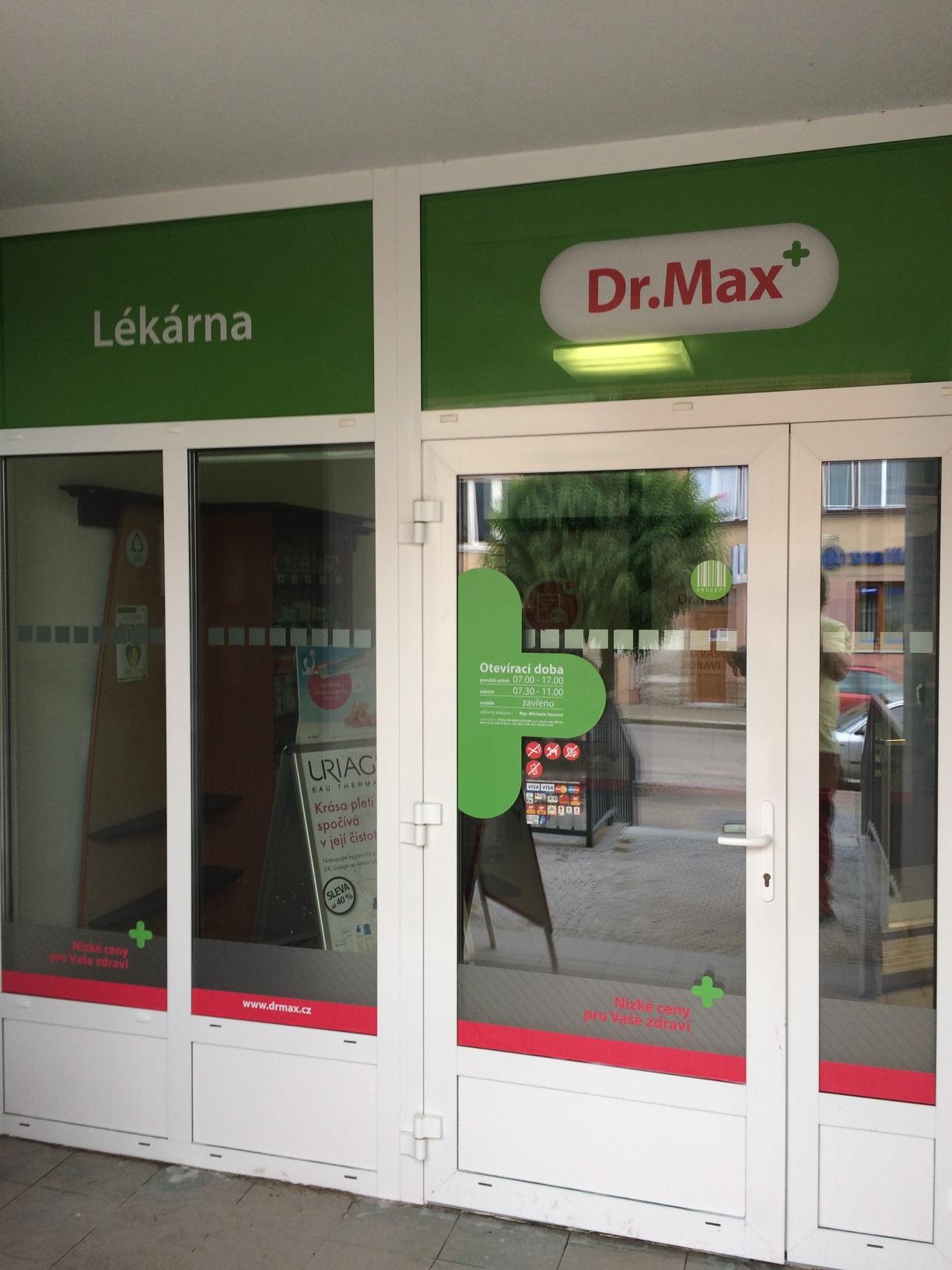 Dr.Max, Masarykova 330, Telč